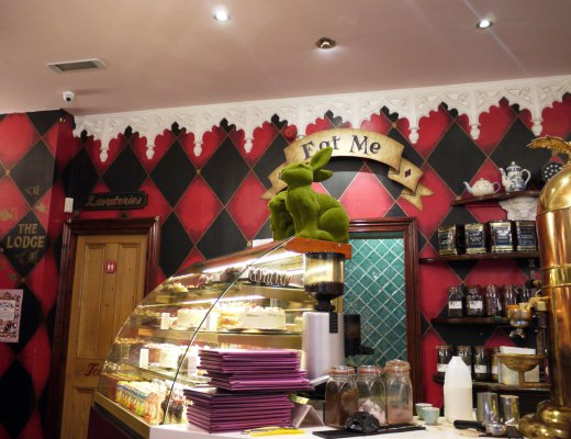 Richmond Tea Rooms counter