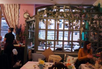Richmond Tea Rooms conservatory