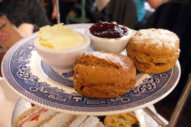 Richmond Tea Rooms scones