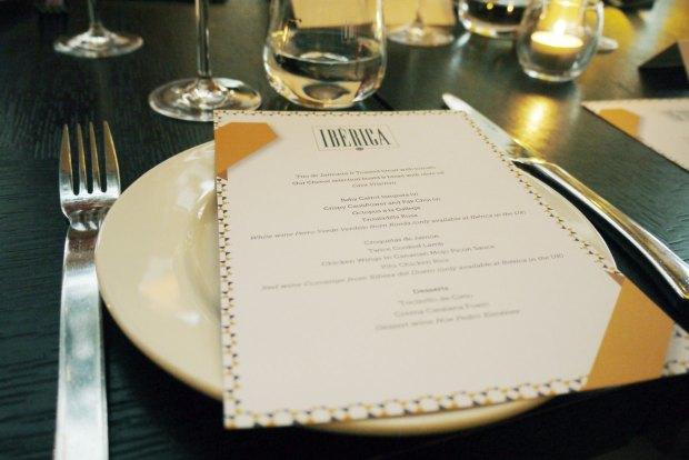 Iberica table setting