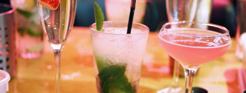Slug and Lettuce drinks