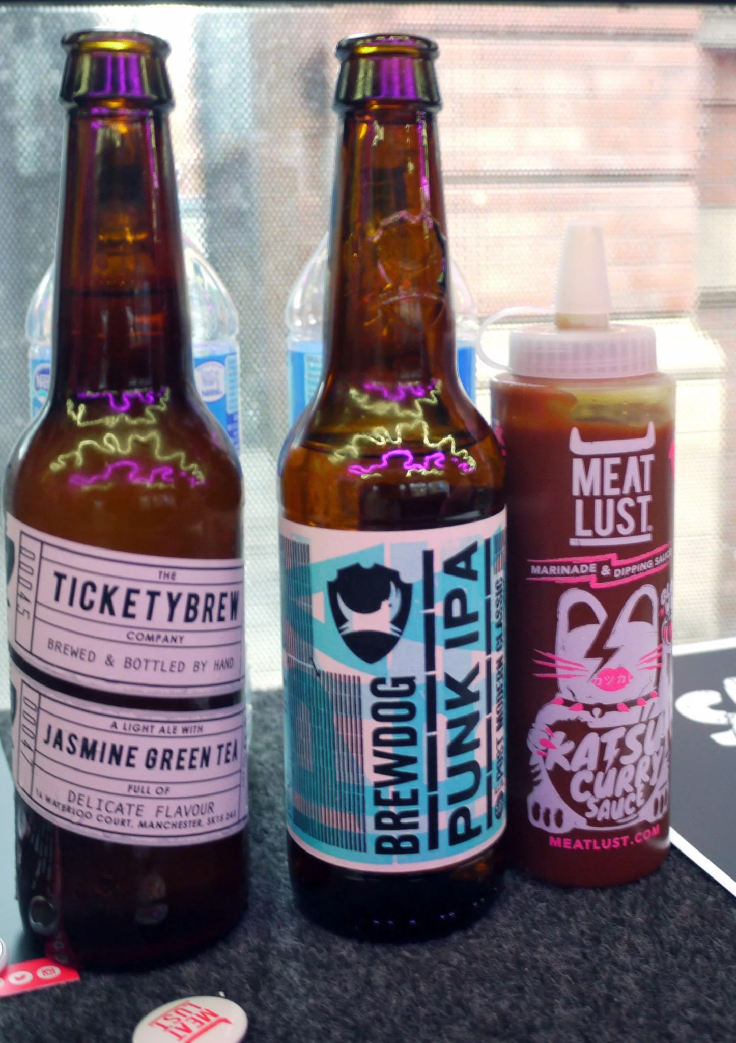 Tickety Brew Jasmine Green Tea and Brewdog IPA