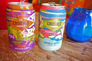 Crooked alcoholic drinks