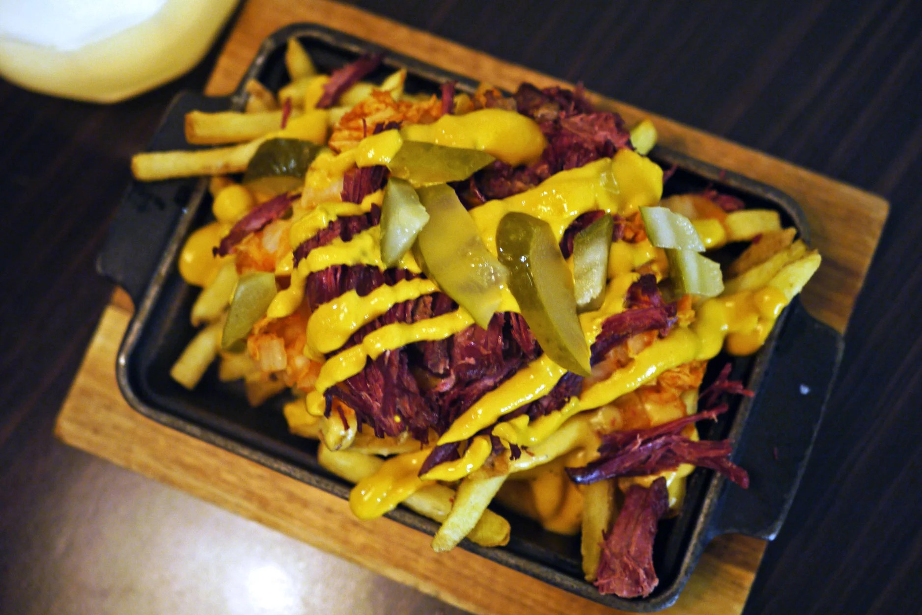 Reuben fries, £6.50