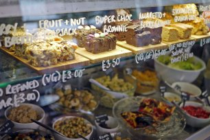Nibble salads and treats