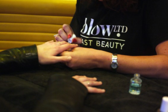 Nails and hair by Blow Ltd