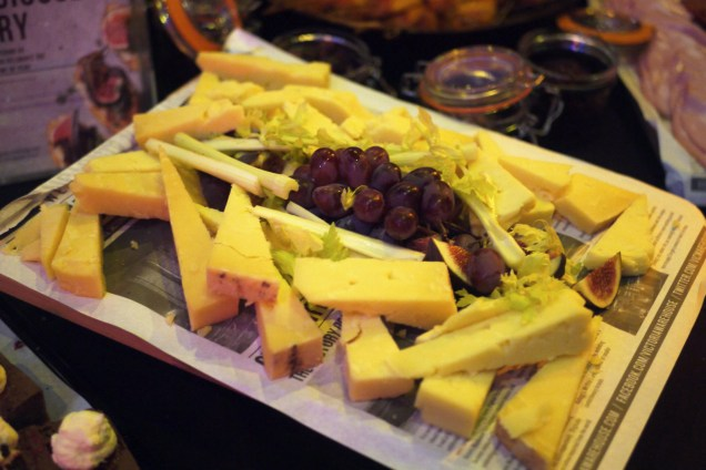 Grape and grain catering - cheese selection