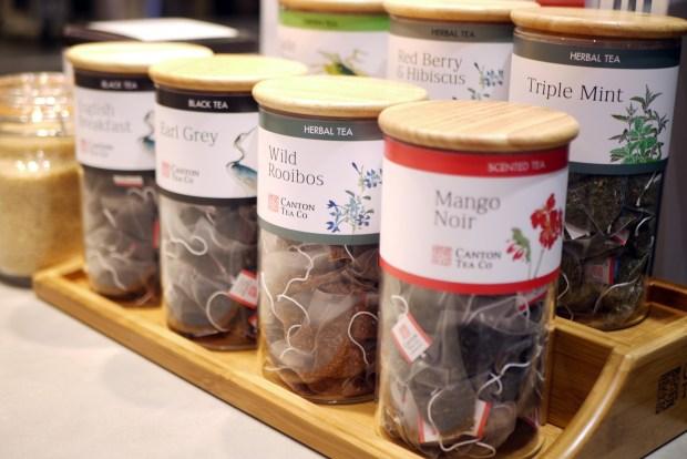 Friska tea options