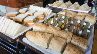 Sandwich selection from The Refuge by Volta