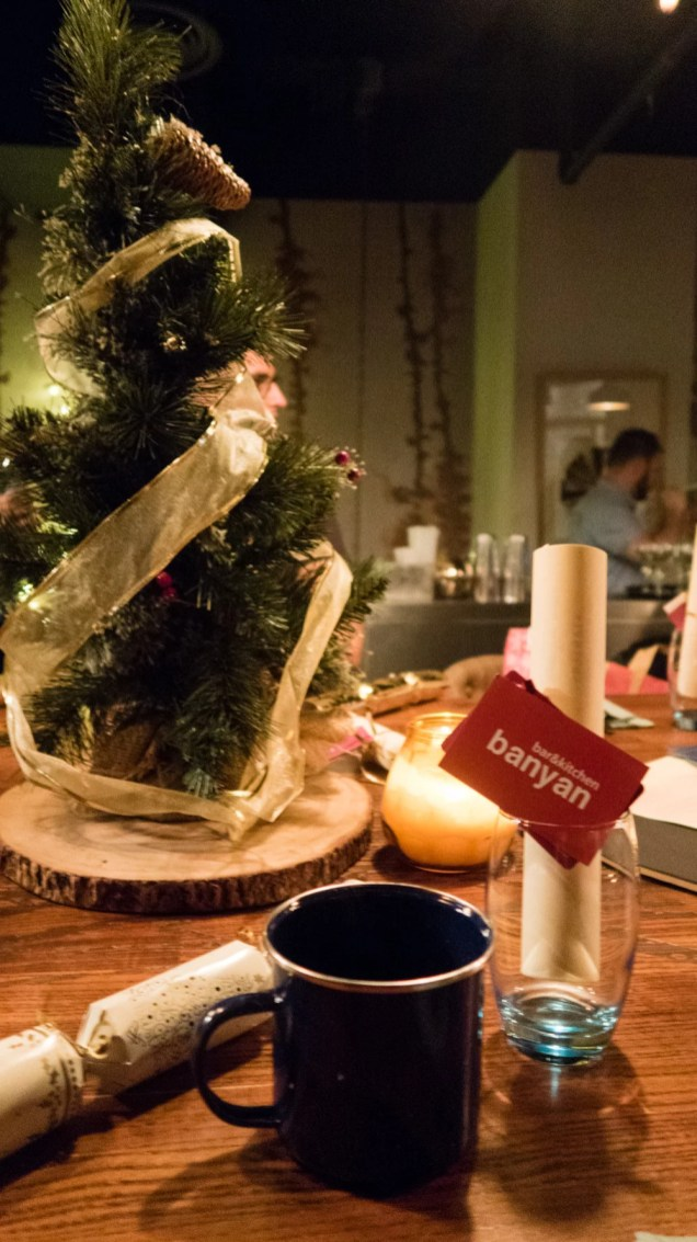 Banyan Christmas table