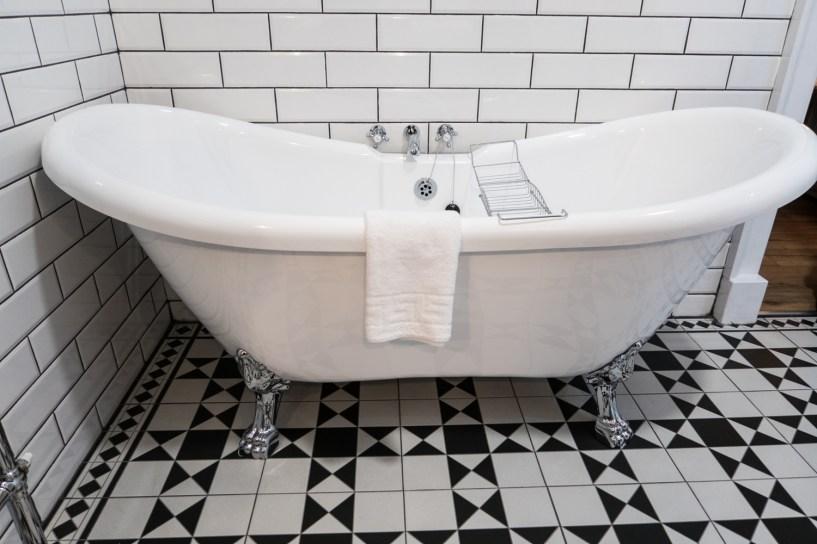 Bathtubs in all the bathrooms
