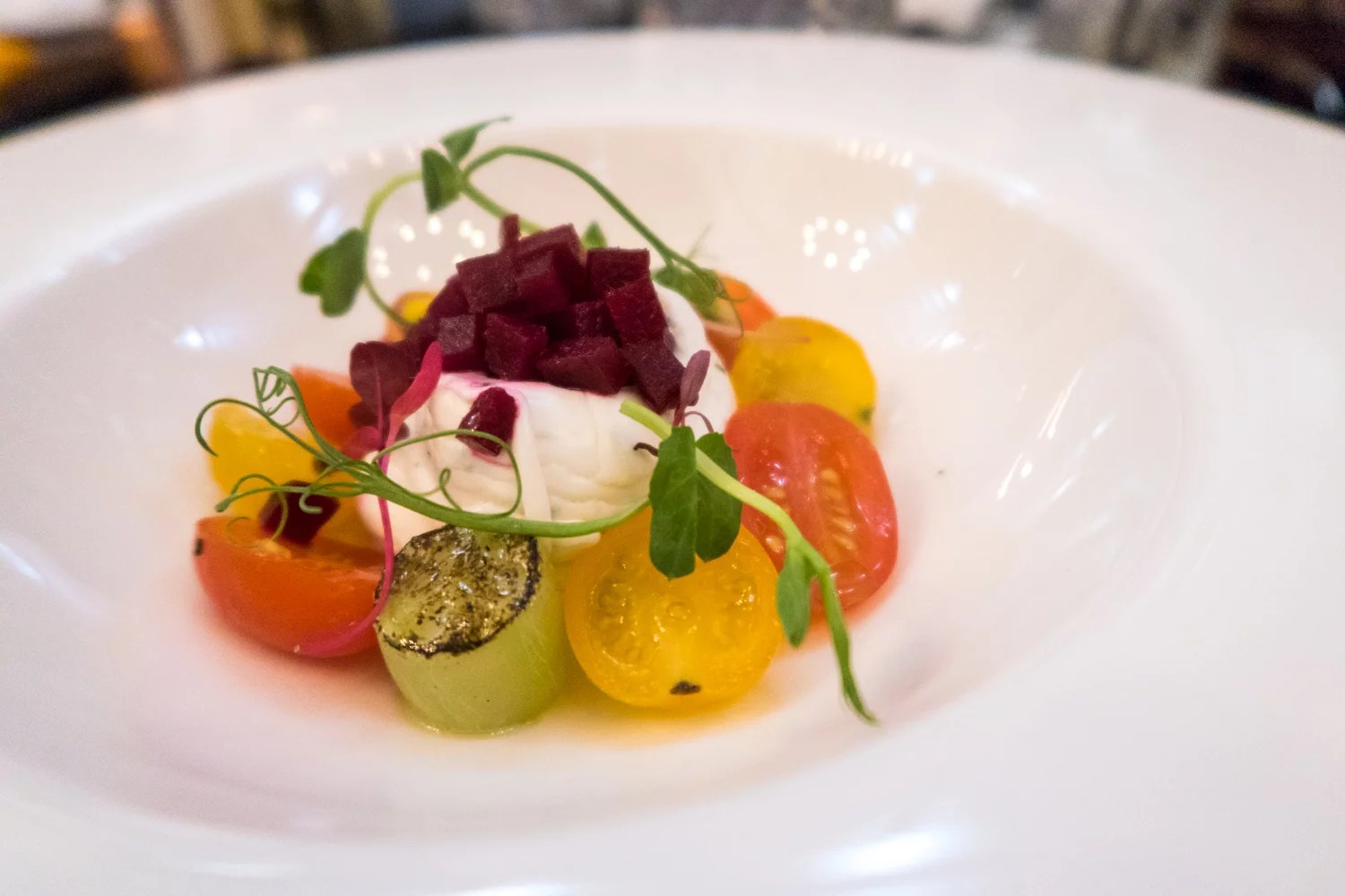 Goat's cheese mousse (v gf) £7