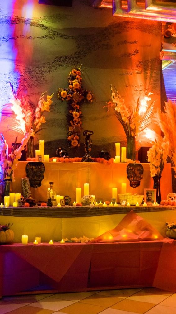 Ofrenda (altar) in Wahaca