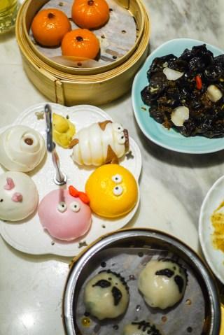 Dim sum from Yum Cha in Hong Kong