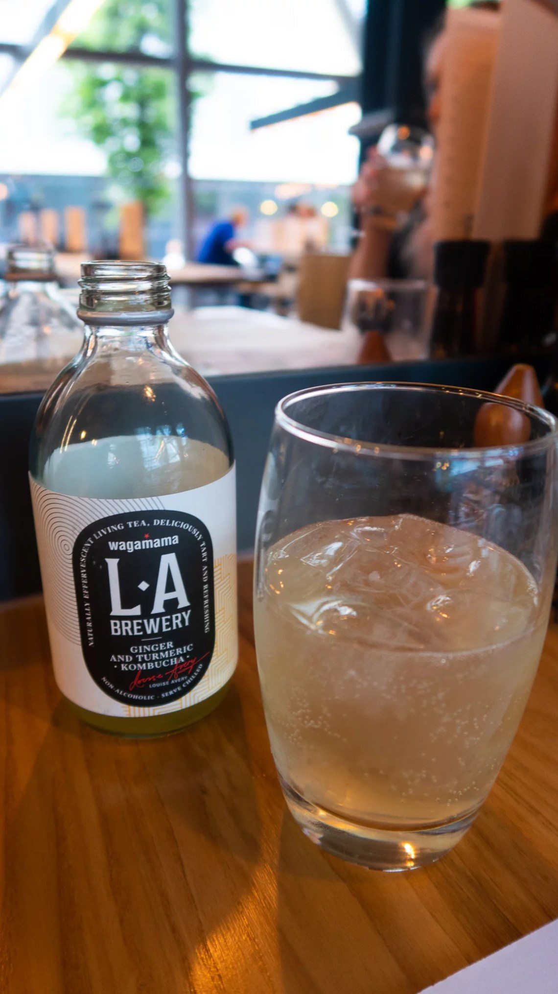 LA Brewery Ginger and Tumeric Kombucha