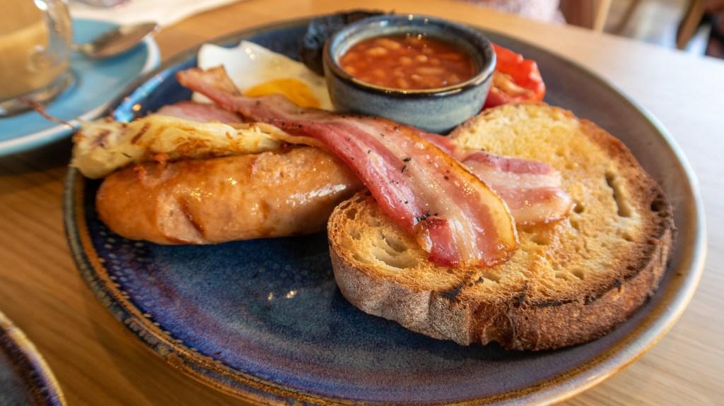 Cook Haus breakfast £6.95