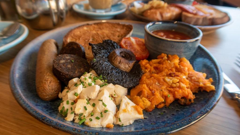 Cook Haus Vegan Breakfast £6.50