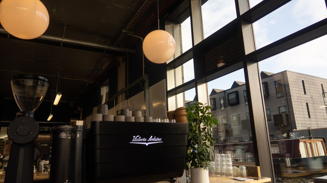 Pollen Bakery coffee machine
