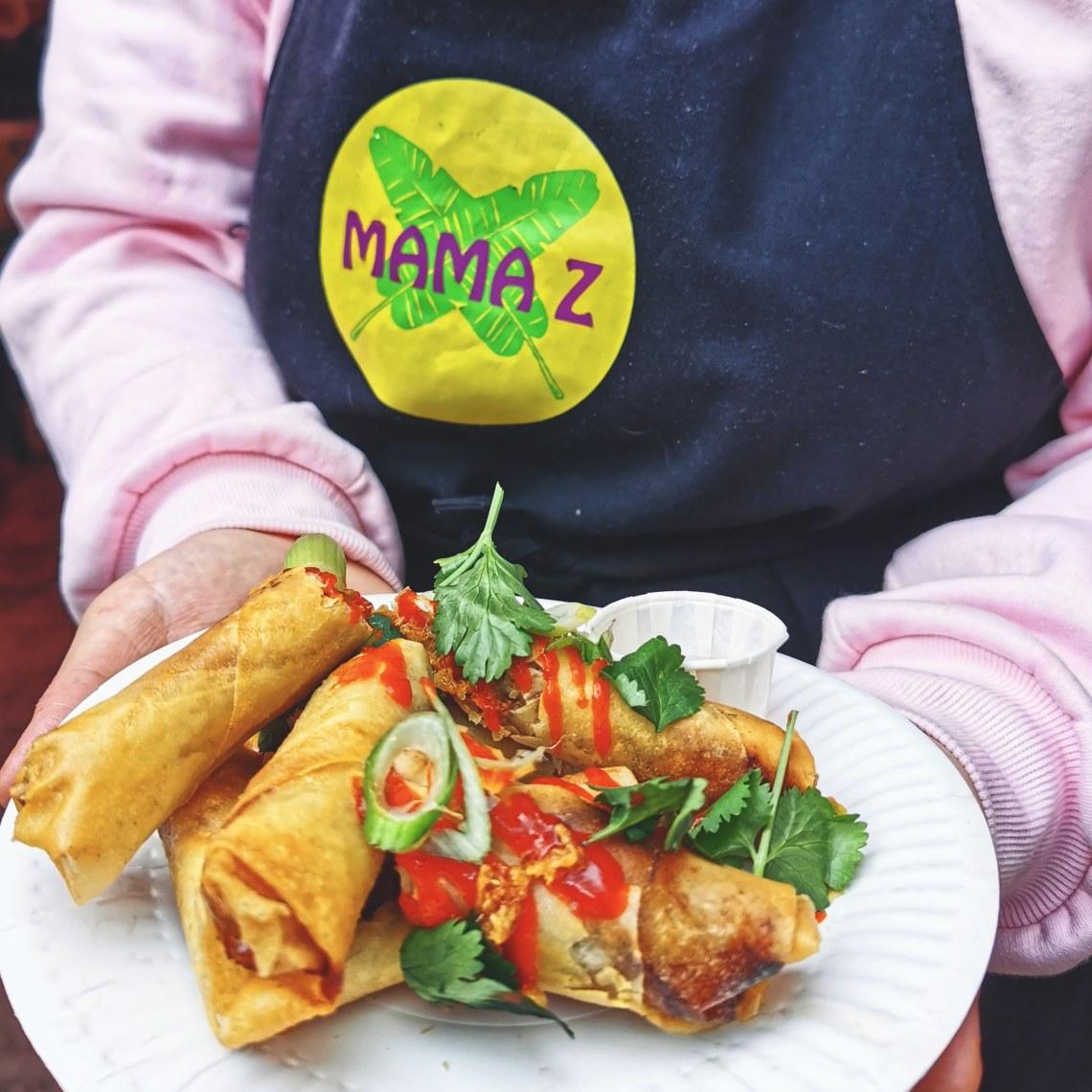 Mama Z's food