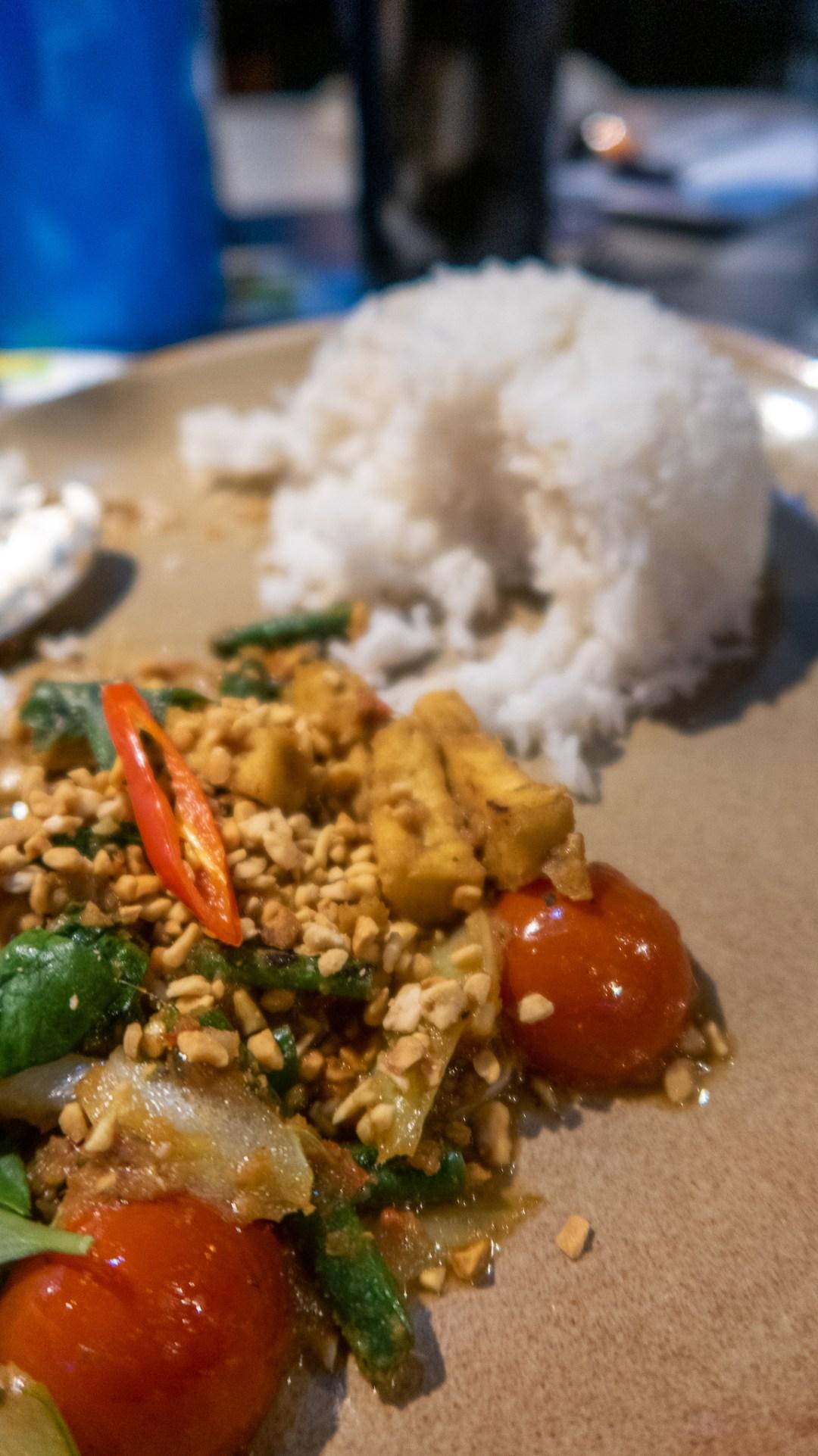 Hot and Sour tofu stir-fry £10.95