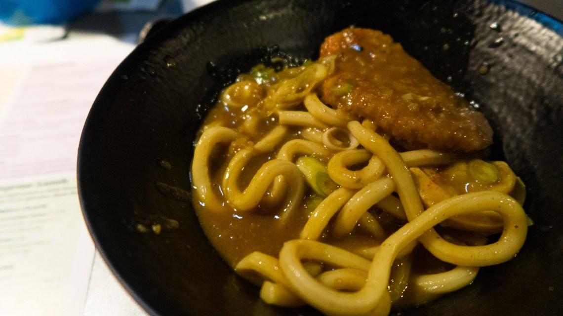 Sweet potato katsu udon soup £10.95