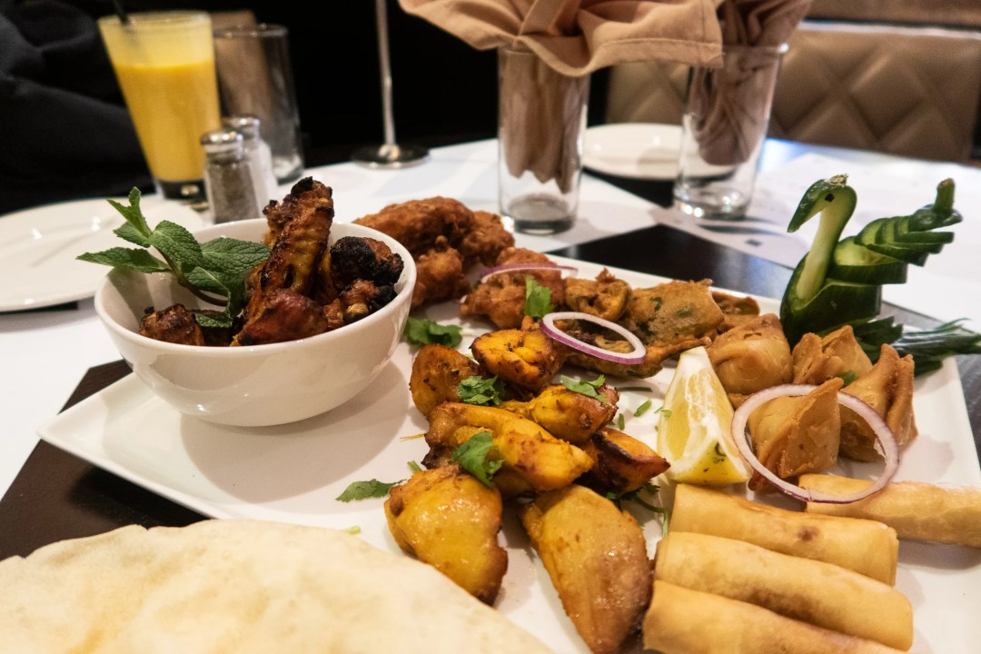 A range of starters from Royal Nawaab