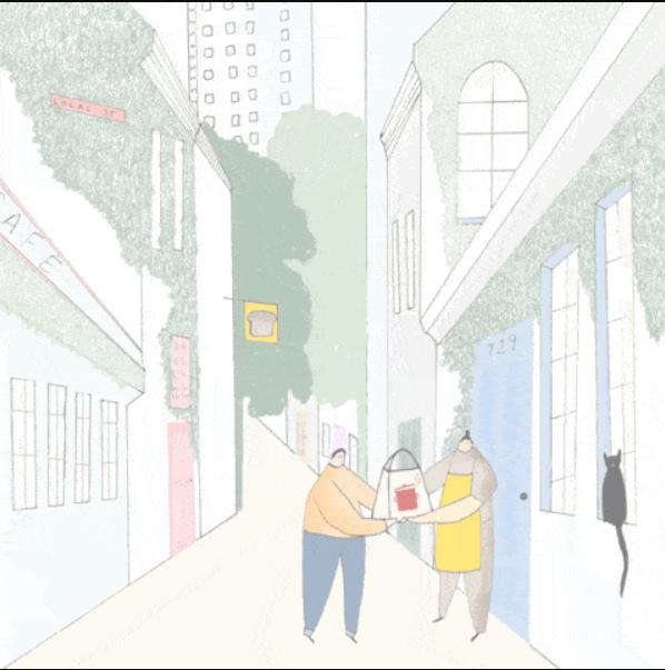 IndieHob illustration drawn by Sarah Wilson