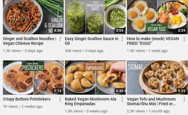 Screenshot of The Foodie Takes Flight Youtube