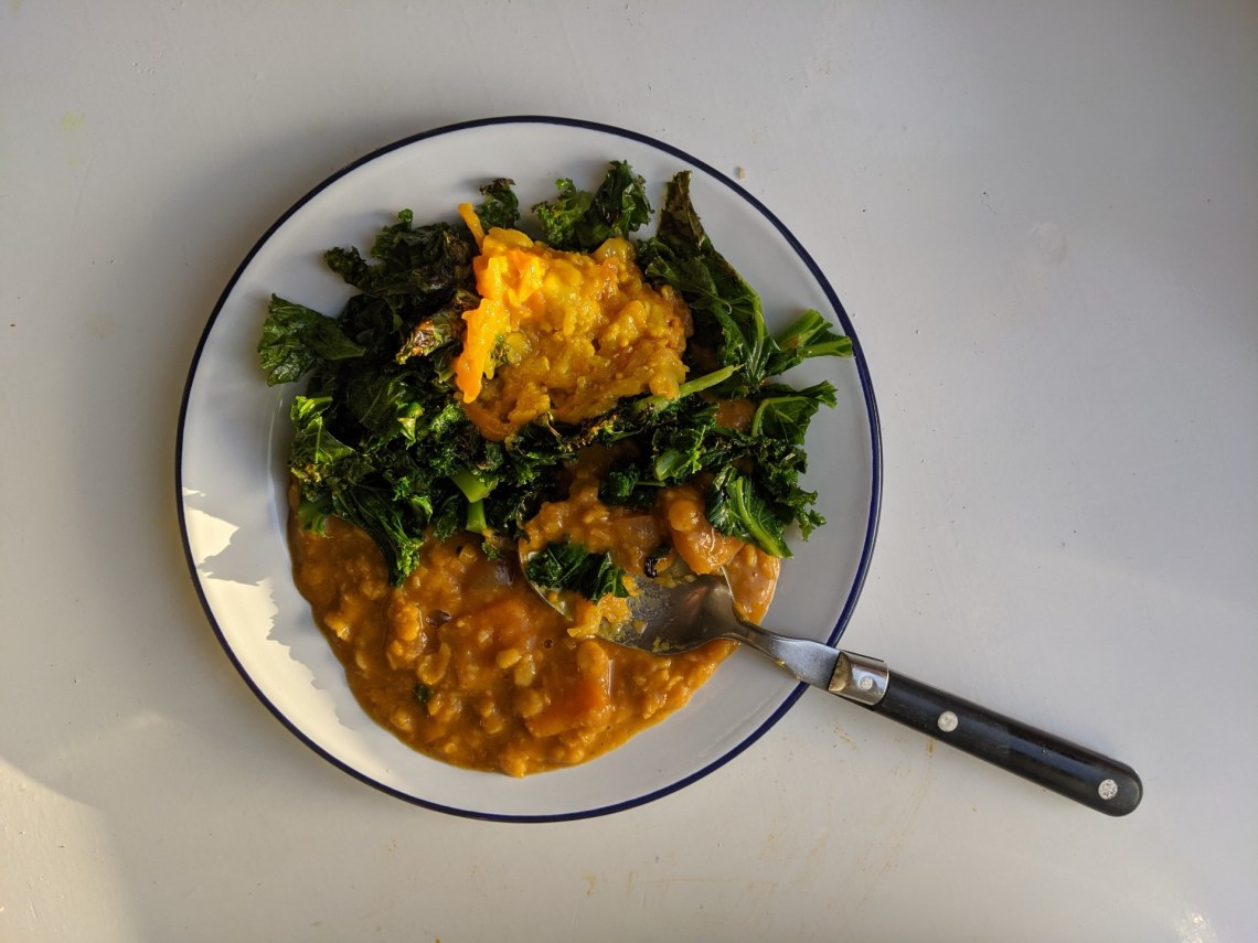 English Yellow Peas - Kale - Chutney - Lorcan Kan
