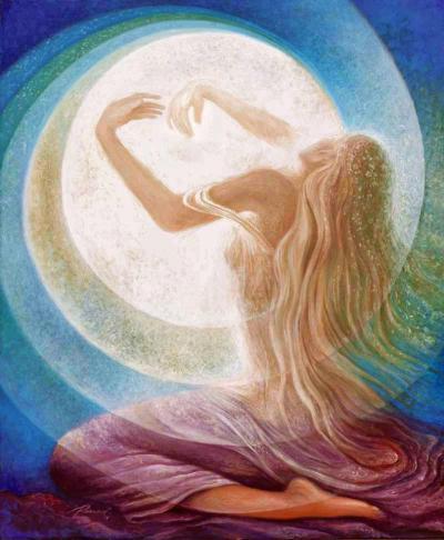 mandala de la luna y yo