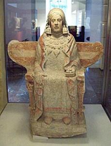 La Dama de Baza. Crédito: Luis García / Wikipedia.