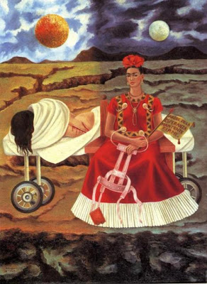 Frida Kahlo. Tree of Hope. 1946 Oil on masonite. 55.8 x 40.7 cm. Private collection.