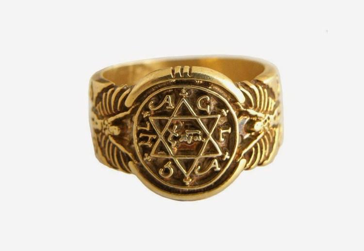 anillo salomon