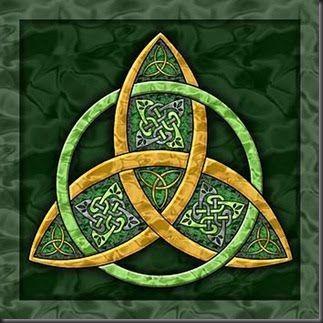 La Triqueta, el SímboloLunar de los Celtas.