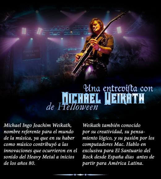 Exclusiva entrevista con Michael Weikath de HELLOWEEN en Colombia 2011 – Seven Sinners Tour 2011