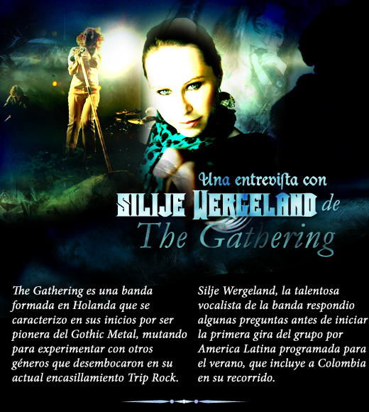 Exclusiva entrevista con Silje Wergeland de The Gathering