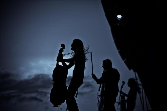 Apocalyptica en Colombia 2012, Ene 22 en el Teatro Metropol de Bogota