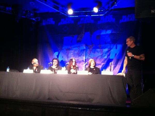 BLACK SABBATH con nuevo album y gira mundial en el 2012 !!!