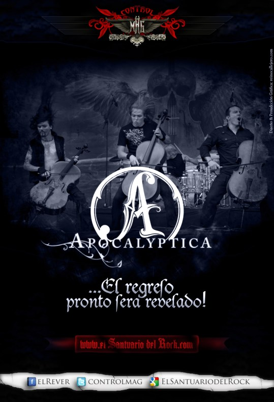 Apocalyptica regresaria a Latinoamerica para mediados de 2012