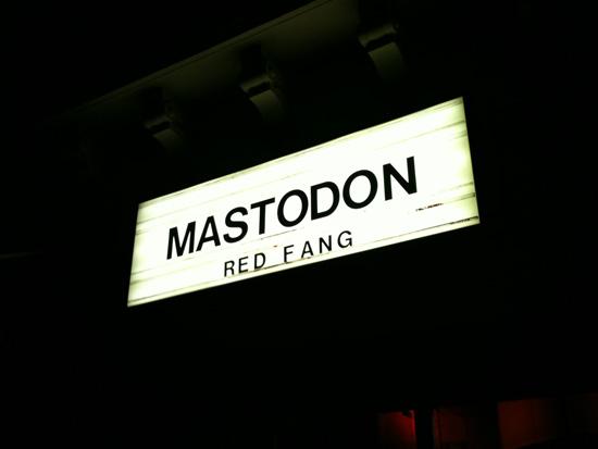 MASTODON Le Bataclan Paris