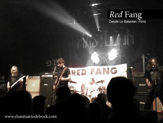 red fang Le Bataclan Paris