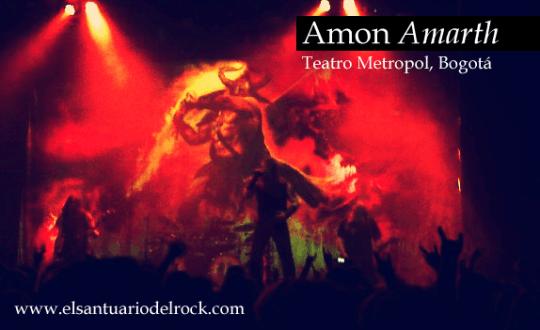 Amon Amarth concierto colombia 2012