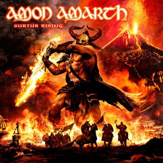 Amon Amarth Surturr Rising album cover