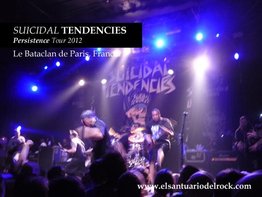 SUICIDAL TENDENCIES Persistence Tour 2012