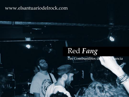Red Fang Black Tusk Les Combustibles Paris 2012