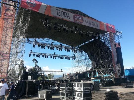 Reseña concierto EVANESCENCE, GARBAGE Y THE DRUMS en Colombia 2012, Oct 27 – Planeta Terra Colombia 2012