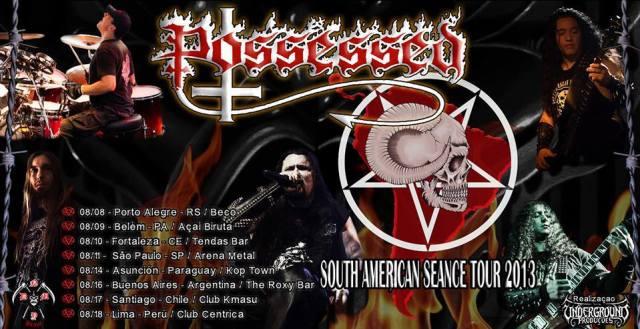 possessed sudamerica 2013