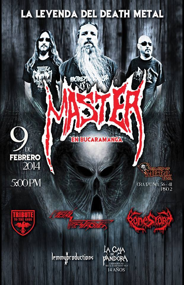 master death metal colombia2014
