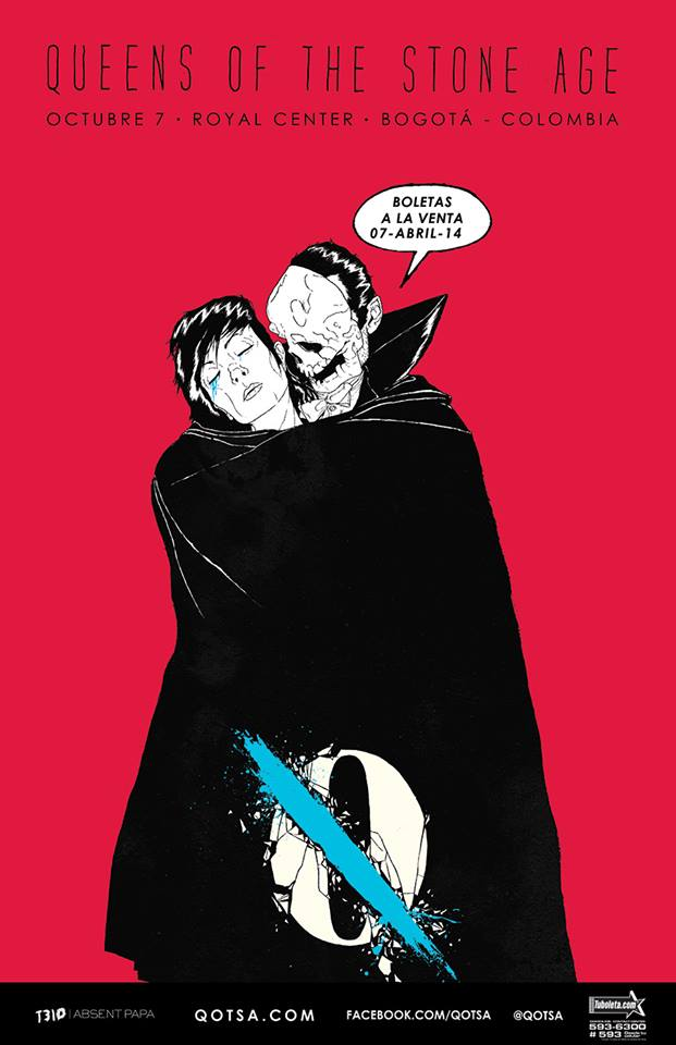 queens of the stone age colombia