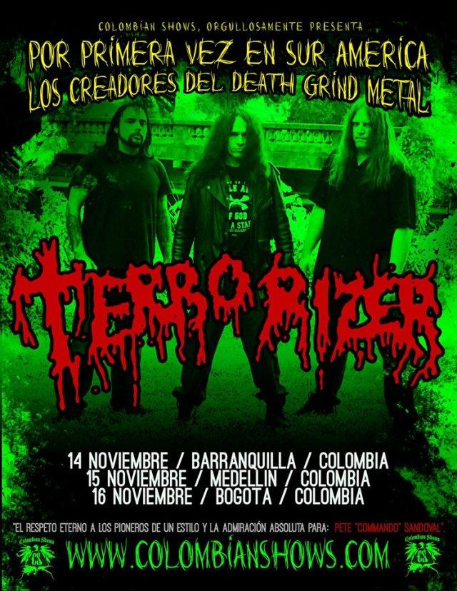 terrorizer colombia 2014